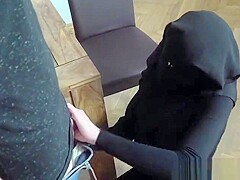 POOR MUSLIM NIQAB GIRL
