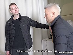 Sell Your GF - Stasia Si - Slut fucked for her bf's debt