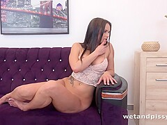 Barbara Bieber in Powerful Pissy Orgasm at Puffy Network - WetAndPissy
