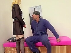 Fucking a hot Czech escort