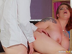 Lucia Love & Danny D in My Submissive Boss - BRAZZERS
