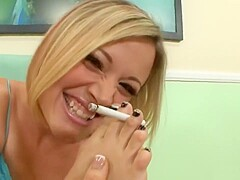 Tiny Blond Cutie Banged by Her Boyfriend