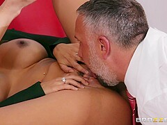 Bridgette B & Katana Kombat & Luna Star in Office 4-Play: Latina Edition - BRAZZERS