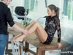 Tina Kay & Kristof Cale in Follow My Footsteps - 21Naturals