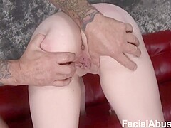 FacialAbuse - E687 - Hick And Two Dicks