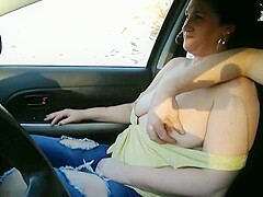 In the car top down. Subscribe and like for more