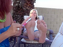 Jacqueline hyde has a foot fetish for womens feet 2