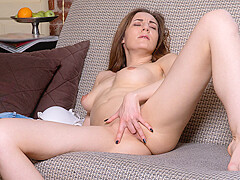 Milana M in On My Mind - Nubiles