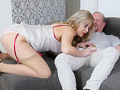 Nikky Dream in A Lady In Public and a Whore In Bed - StockingsVR