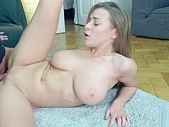 GERMAN SCOUT - BIG NATURAL TITS TEEN JOSEPHINE FUCK AT REAL PICKUP CASTING
