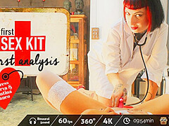 Valentina Bianco & Mistress Minerva in First-Sex Kit: First Analysis - VirtualPorn360