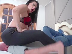Soraya Carioca Giant Ass Fucks Ben Face 1