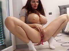 Ugly italian girl with fake tits and fat pussy 2