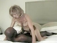 hubby tapes her second interracial encounter in the hotel room