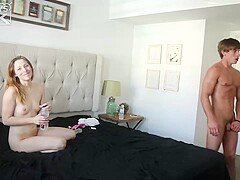 Handsome guy, Chad Norman is fucking his best friend's slutty girlfriend and enjoying it a lot