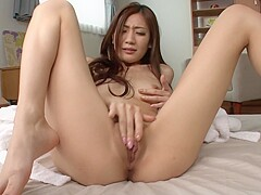Asian Babe Plays With Pussy In Sexy Solo