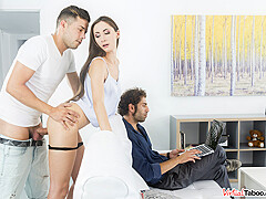 Risky Sex In Front Of Daddy - VirtualTaboo