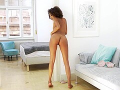 Amazing, ebony woman, Luna Corazon likes to suck dick and lick ass, while having casual sex