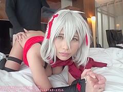 FGO Okita Alter - PornZog Free Porn Clips